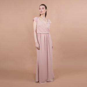 robe invitée tissus fluide