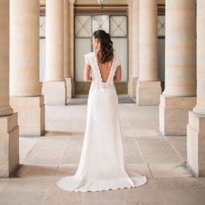 robe de mariée dos nu julie bauer paris